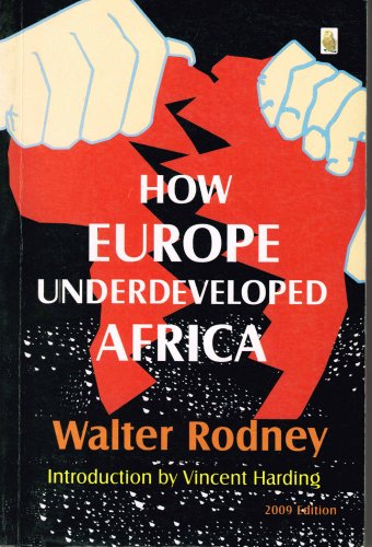 9789783704923: How Europe Underdeveloped Africa