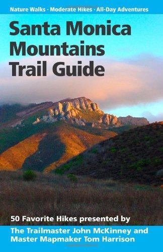 9789786575353: Santa Monica Mountains Trail Guide