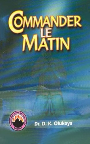 9789788021728: Commander Le Matin (French Edition)