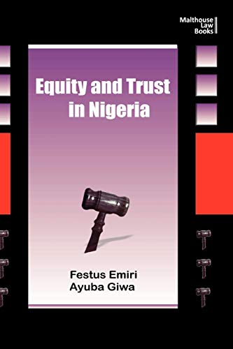 9789788422341: Equity and Trust in Nigeria