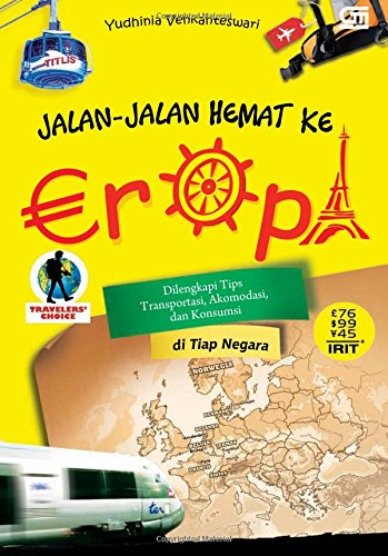 9789792271768: Jalan-Jalan Hemat ke Eropa (Indonesian Edition)