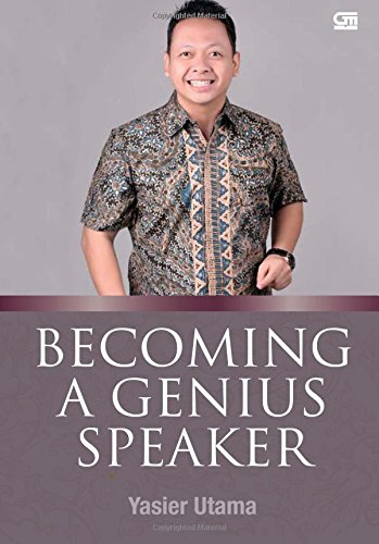 9789792285703: Becoming A Genius Speaker (Indonesian Edition)
