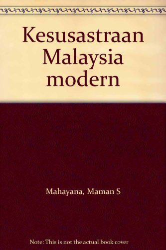 9789794191453: Kesusastraan Malaysia modern