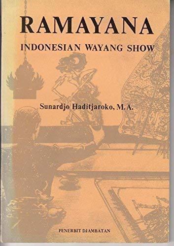 9789794280409: Ramayana: Indonesian Wayang Show