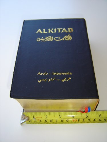 Arabic - Indonesian Diglot Bible with Golden: Bible Society