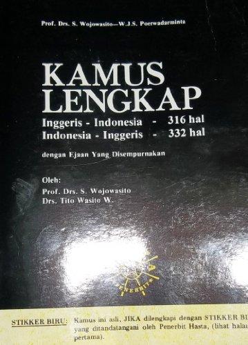 Kamus lengkap bahasa Jawa: Jawa-Jawa, Jawa-Indonesia, Indonesia-Jawa: S. A Mangunsuwito