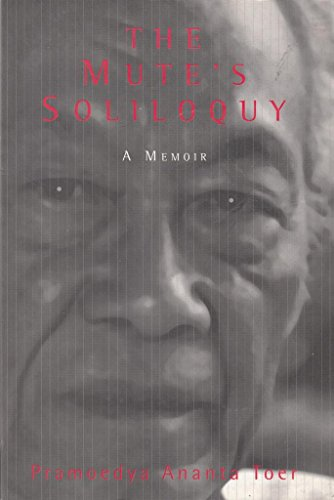 9789798659102: The Mute's soliloquy: A memoir
