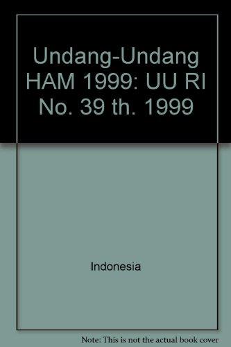 Undang-Undang HAM 1999: Editor