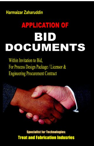 9789799799487: Application Of Bid Documents: Terms & Conditions Of Tender