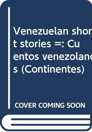 Venezuelan short stories / Cuentos venezolanos: Lyda Aponte de