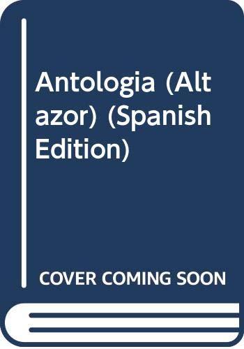 9789800105528: Antologia (Altazor) (Spanish Edition)