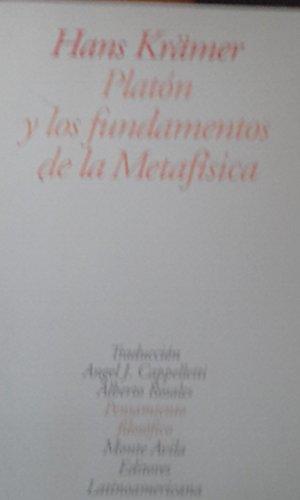 9789800107270: Platon y Los Fundamentos de La Metafisica (Spanish Edition)