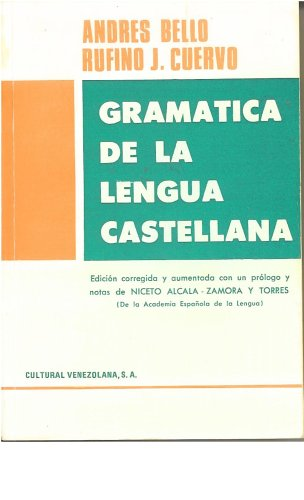 9789802040049: Gramatica de la Lengua Castellana