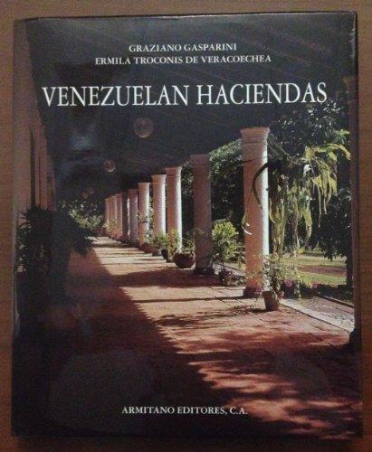 9789802161805: Venezuelan Haciendas