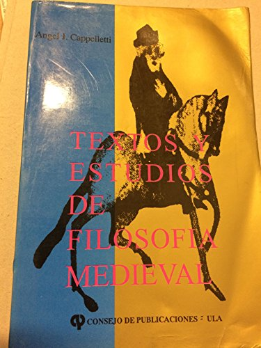 9789802215515: Textos y estudios de filosofía medieval (Colección Filosofía) (Spanish Edition)