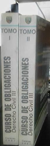 9789802440702: Curso de obligaciones: Derecho civil III (Manuales de derecho / Universidad Católica Andrés Bello) (Spanish Edition)