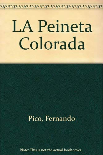 9789802570980: LA Peineta Colorada (Spanish Edition)