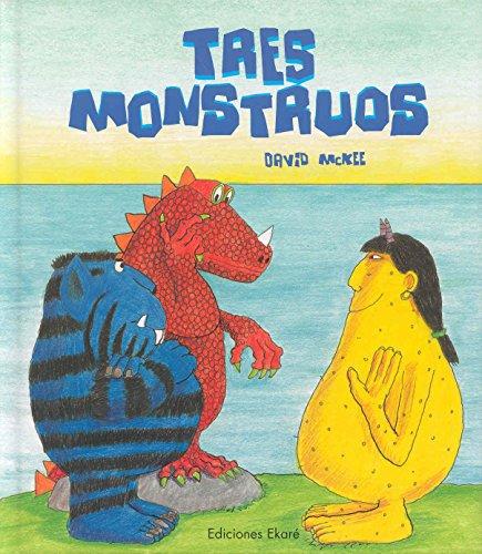 9789802573172: Tres Monstruos (Primeras lecturas / Ekaré en catalá)