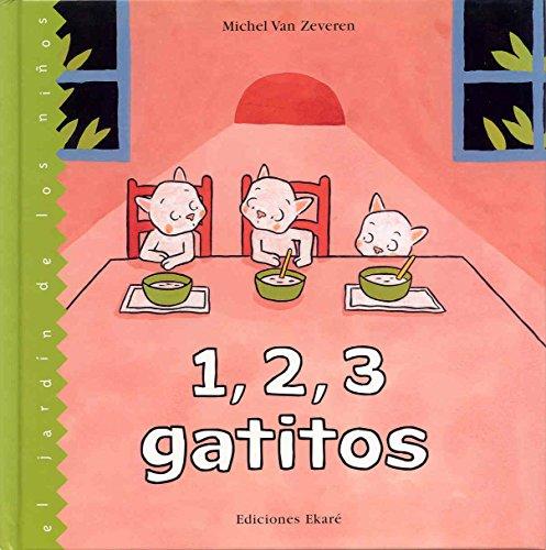 9789802573226: 1,2,3 gatitos (El jardín de los niños)