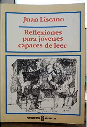 9789802580002: Reflexiones para jóvenes capaces de leer (Colección Autores de hoy. Serie Trazos) (Spanish Edition)