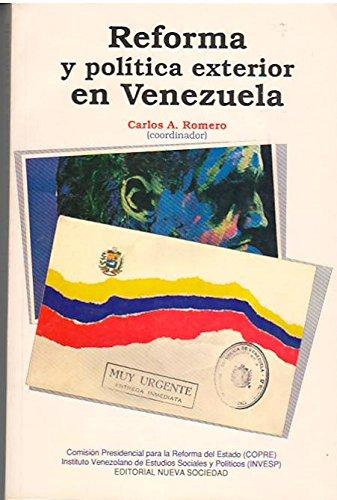 9789803170165: Reforma y politica exterior en Venezuela (Spanish Edition)