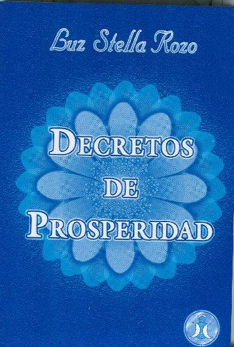 9789803690205: Decretos de Prosperidad (Spanish Edition)