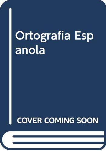 9789803882389: Ortografia Espanola