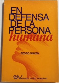 9789806070233: En defensa de la persona humana