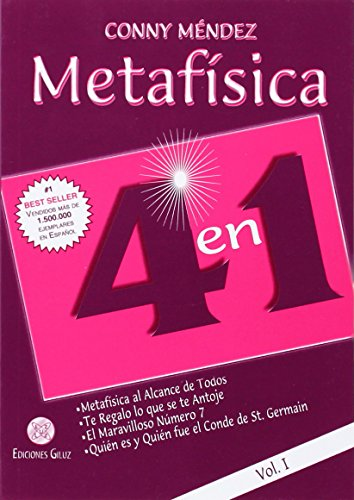 Metafi­sica 4 en 1. Vol I (Spanish Edition): Conny Mendez