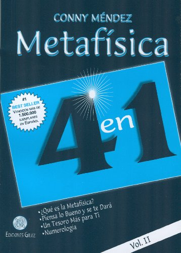 9789806329003: Metafisica 4 En 1 -Vol.Ii-: 2