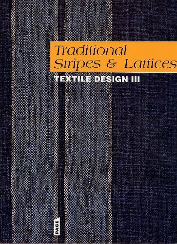 9789810047757: Traditional Stripes and Lattices: Textile Design III (English, French and German Edition)
