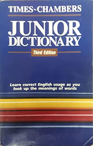 9789810121891: Times-Chambers Junior Dictionary