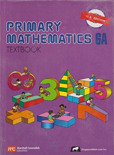 9789810180836: Primary Mathematics 6A