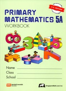 9789810185121: Primary Mathematics 5a: Us Edition PMUSW5A (Primary Mathematics Us Edition)