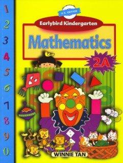 9789810186005: Earlybird Kindergarten: Mathematics: 2A