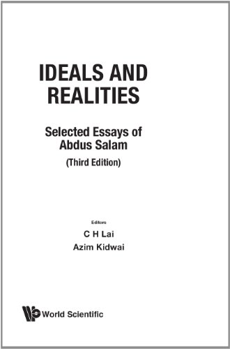 Ideals and Realities: Abdus Salam; Editor-Z.
