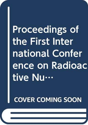 Proceedings of the First International Conference on: International Conference on