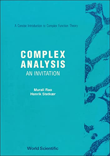 9789810203757: Complex Analysis: An Invitation