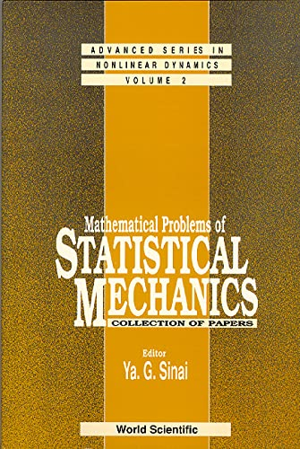 9789810205522: Mathematical Problems of Statistical Mechanics: Collection of Papers (Advanced Series in Nonlinear Dynamics)