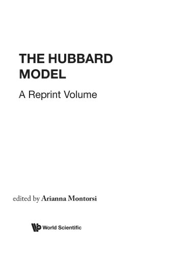 9789810205867: Hubbard Model, The: A Collection Of Reprints