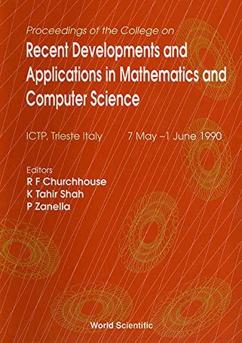 Proceedings of the College on Recent Developments: Churchhouse, R. F.;
