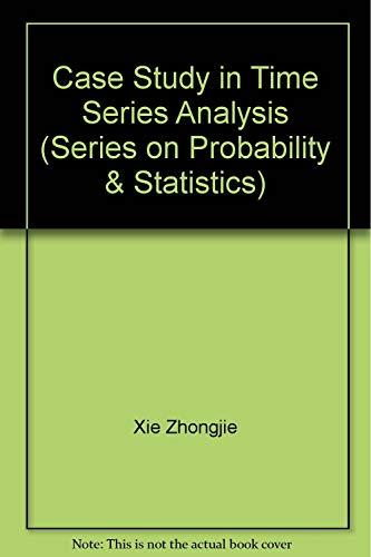 9789810210175: Case Studies in Time Series Analysis