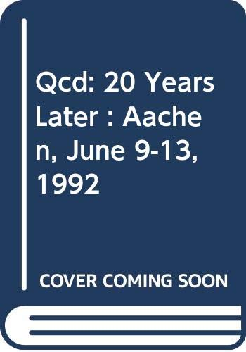 QCD: 20 Years Later