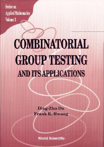 9789810212933: Combinatorial Group Testing and Its Applications (Applied Mathematics)