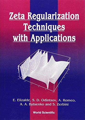 9789810214418: Zeta Regularization Techniques With Applications