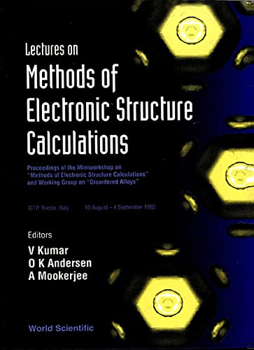 9789810214852: Lectures on Methods of Electronic Structure Calculations: Proceedings of the Miniworkshop on