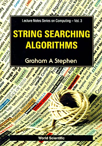 9789810218294: String Searching Algorithms (Lecture Notes Series on Computing)