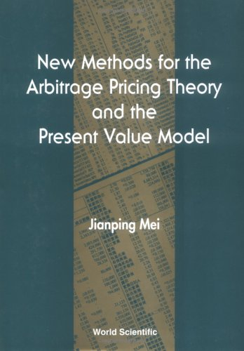 9789810218393: New Methods for the Arbitrage Pricing Theory and the Present Value Model