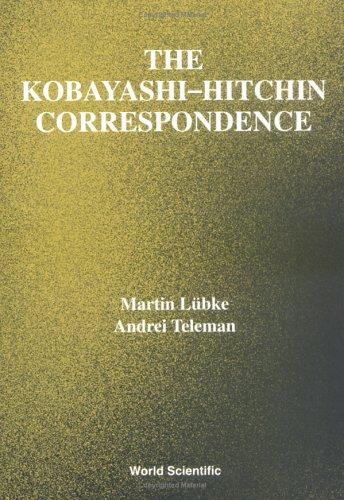 9789810221683: The Kobayashi-Hitchin Correspondence