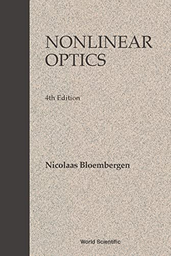 9789810225988: Nonlinear Optics